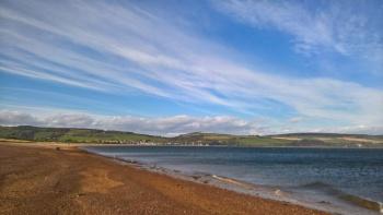 Landscape photo of Rosemarkie Beach