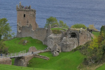 Urquhart Castle, Drumnadrochit, about 20 minutes from Pinewood Steading