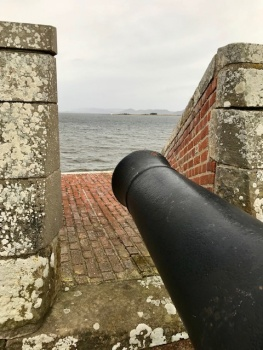 Cannon over Chanonry Point
