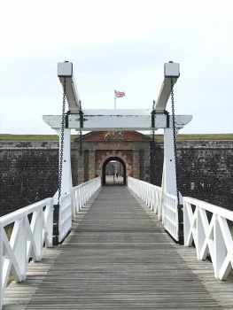 Fort George entrance gate