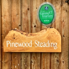 Steading sign and Gold